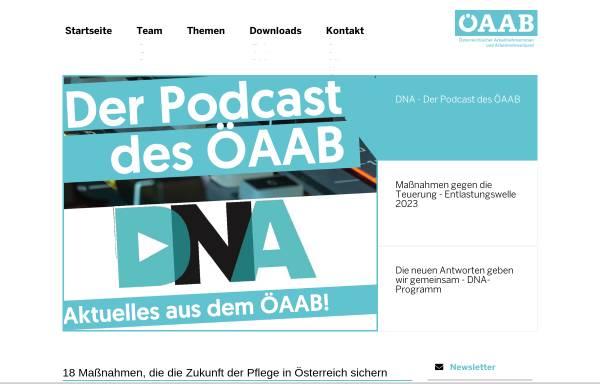 Vorschau von www.oeaab.com, Österreichischer Arbeitnehmerinnen und Arbeitnehmerbund (ÖAAB)