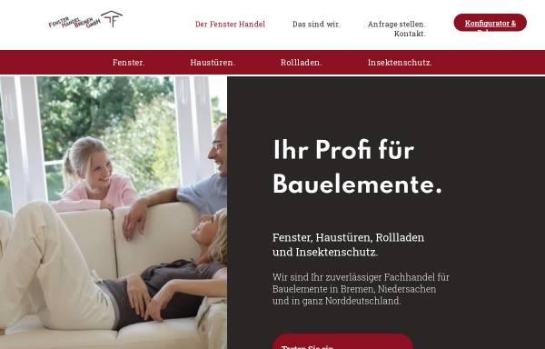 Vorschau von www.fensterhandelbremen.de, Fenster Handel Bremen GmbH