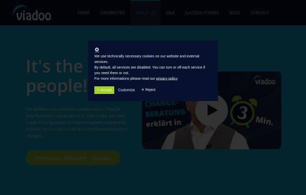 Vorschau von www.dfkom.eu, DFKOM - Doktor Faust Kommunikation GmbH