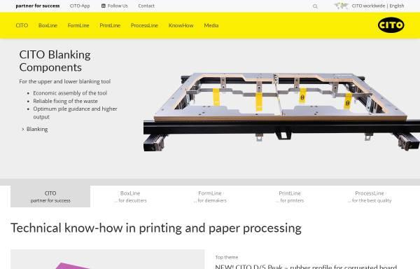 Vorschau von www.cito.de, Cito System GmbH