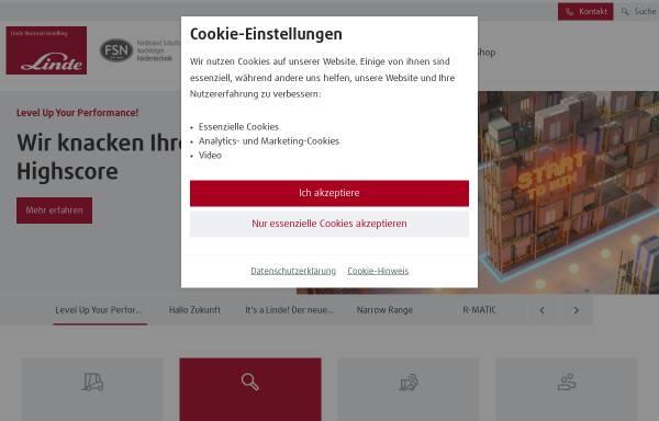 Vorschau von www.fsn-foerdertechnik.de, FSN Fördertechnik GmbH