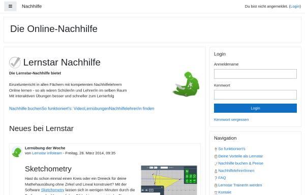 Vorschau von www.lernstar.com, Lernstar