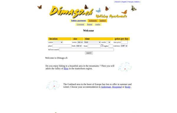 Vorschau von www.dimago.ch, Dimago