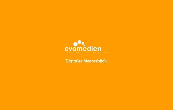 Vorschau von www.evomedien.de, Internetagentur & Werbeagentur Kiel - evomedien