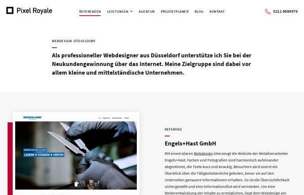 Vorschau von www.pixelroyale.de, Pixel Royale