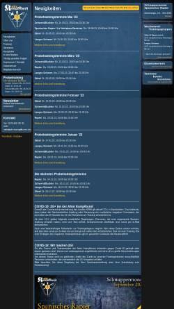 Vorschau der mobilen Webseite www.alte-kampfkunst.de, Alte Kampfkunst - Historical European Martial Arts Academy