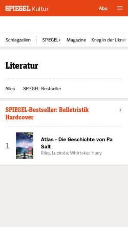 Vorschau der mobilen Webseite gutenberg.spiegel.de, Christian Schubart im Projekt Gutenberg