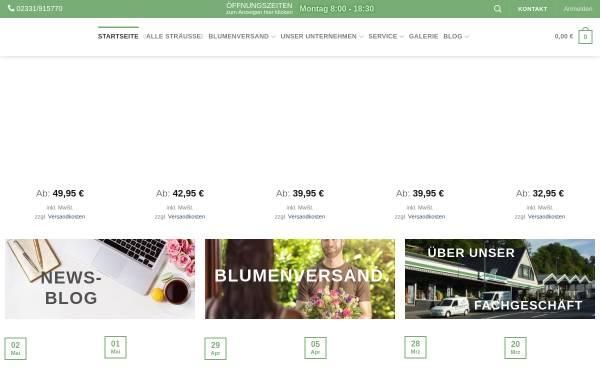 Vorschau von www.blumen-mankopf.de, Blumen Bruno Mankopf