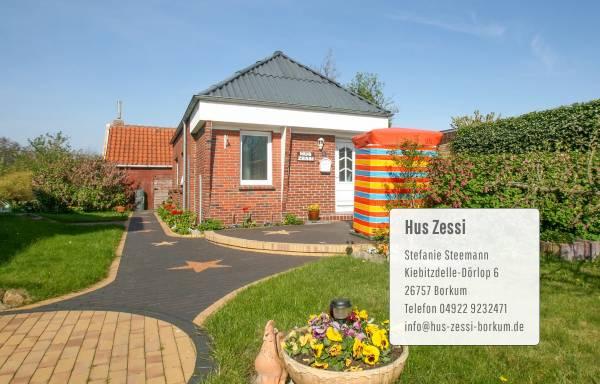 Vorschau von www.hus-zessi-borkum.de, Ferienhaus 'Hus Zessi'