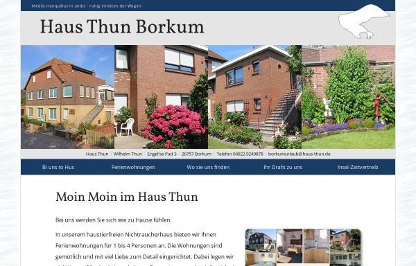 Vorschau von www.haus-thun.de, Ferienhaus Thun