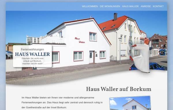 Vorschau von www.haus-waller.de, Haus Waller