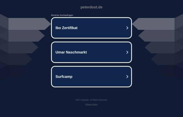 Vorschau von www.peterdost.de, Peter und Carola