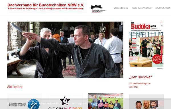 Vorschau von www.budo-nrw.de, Dachverband für Budotechniken Nordrhein-Westfalen e.V.