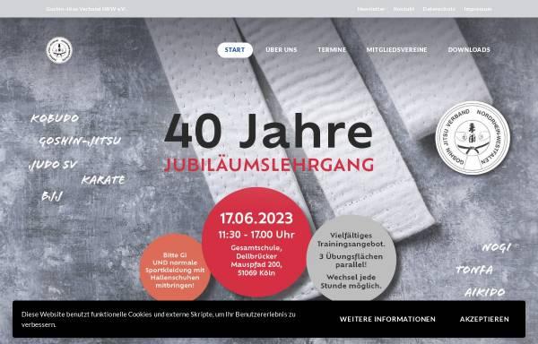 Vorschau von www.goshin-jitsu.de, Goshin-Jitsu Verband Nordrhein-Westfalen e.V.