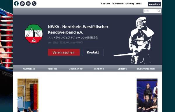 Vorschau von www.nrwkendo.de, Nordrhein-Westfälerischer Kendoverband e.V. (NWKV)