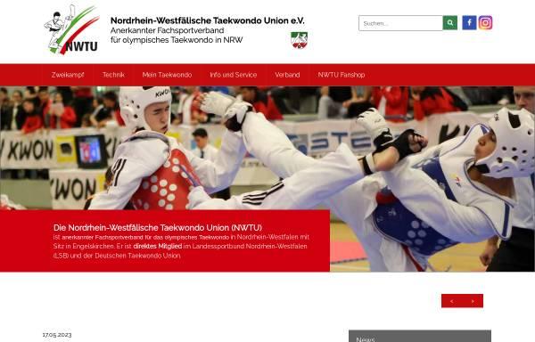 Vorschau von www.nwtu.de, Nordrhein-Westfälische Taekwondo Union e. V.
