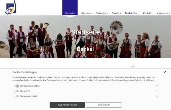 Vorschau von www.blasmusikverein-bischberg.de, Blasmusikverein Bischberg 1960 e.V.