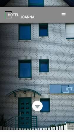 Vorschau der mobilen Webseite www.hotel-agata.de, Hotel-Pension Agata