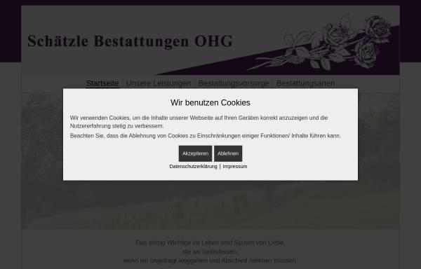 Vorschau von www.bestattungen-bisch.de, Bestattungsinstitut Bisch