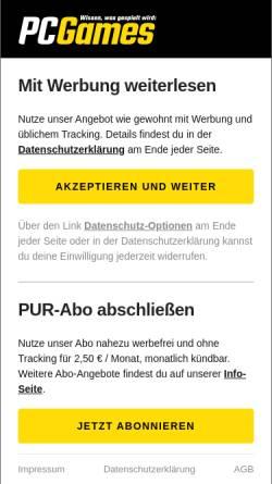 Vorschau der mobilen Webseite www.spielefilmetechnik.de, Sftlive.de