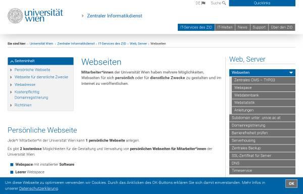 Vorschau von homepage.univie.ac.at, Liebe und Widerstand