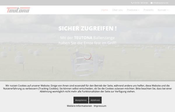 Vorschau von www.teutona.net, Teutona.net