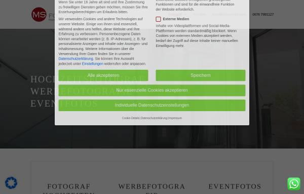 Vorschau von www.ms-fotografie.com, MS Fotografie - Mathias Suchhold