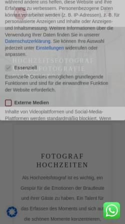 Vorschau der mobilen Webseite www.ms-fotografie.com, MS Fotografie - Mathias Suchhold