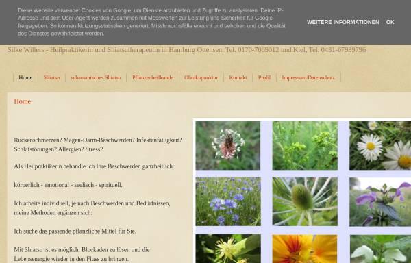 Vorschau von www.heilpraxis-willers.de, Willers Silke