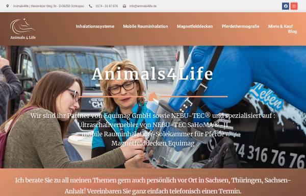 Vorschau von www.animals4life.de, Animals4Life