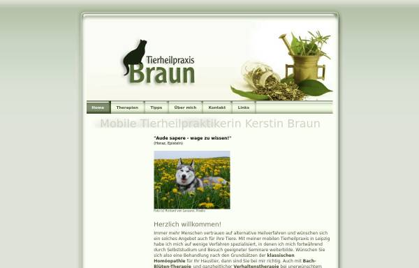 Vorschau von www.braun-tier.de, Kerstin Braun