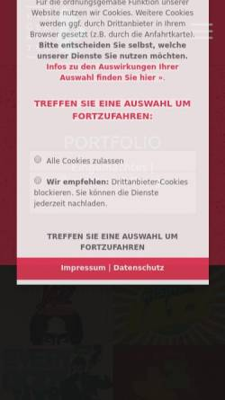 Vorschau der mobilen Webseite www.1gemachtes.de, 1gemachtes, Christopher Duis