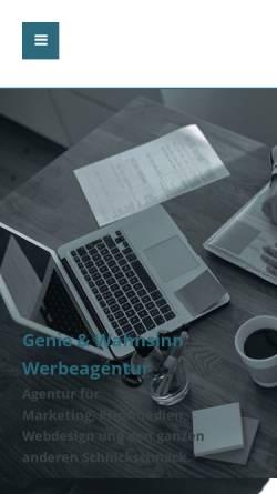 Vorschau der mobilen Webseite www.innographix.de, Innographix, Mirco Herzberg