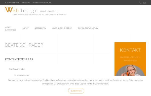 Vorschau von www.webdesign-ostholstein.de, Webdesign Ostholstein, Beate Beermann