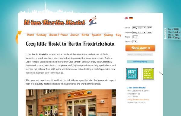 Vorschau von uinnberlinhostel.com, U Inn