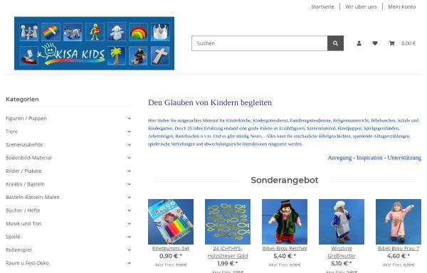 Vorschau von www.kisa-kids.de, Kisa Kids, Ulrike Müller