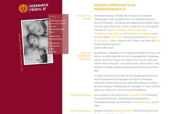 Vorschau von www.hebammenpraxis37.de, Hebammenpraxis 37