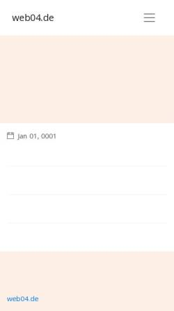 Vorschau der mobilen Webseite www.web04.de, Web 0.4