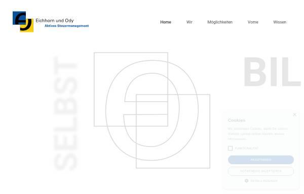 Vorschau von www.eichhornody.de, Eichhorn und Ody Steuerberatungsgesellschaft mbH