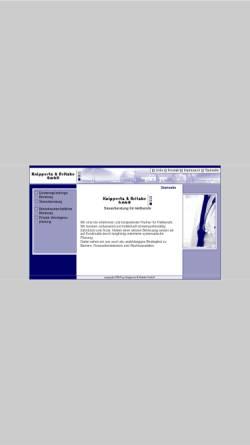 Vorschau der mobilen Webseite www.knippertz-britzke.de, Knippertz-Britzke GmbH