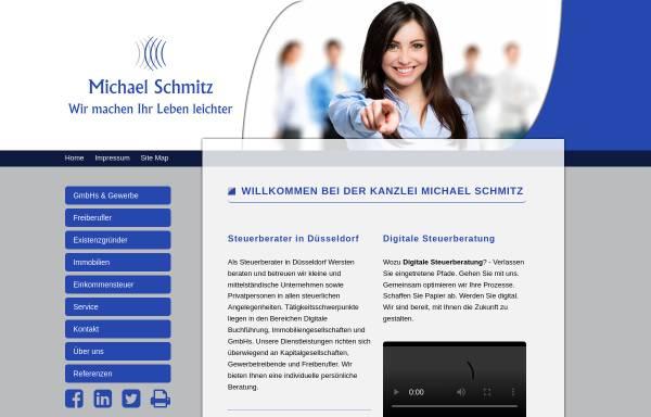 Vorschau von www.duesseldorf-steuerberatung.de, Schmitz, Michael