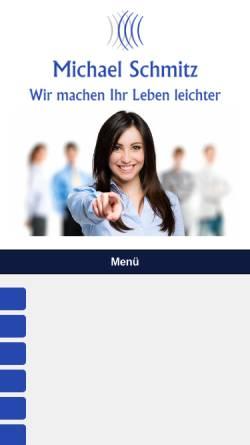 Vorschau der mobilen Webseite www.duesseldorf-steuerberatung.de, Schmitz, Michael