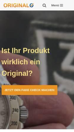 Vorschau der mobilen Webseite www.originalo.de, Originalo.de