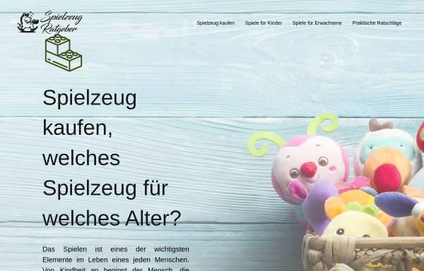 Vorschau von www.spielzeug-ratgeber.info, Spielzeug-Ratgeber