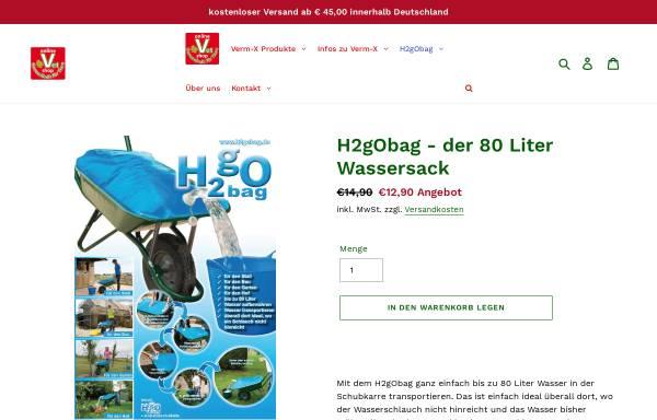 Vorschau von h2gobag.de, H2gObag. Inh. Jochen Scheide