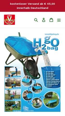 Vorschau der mobilen Webseite h2gobag.de, H2gObag. Inh. Jochen Scheide