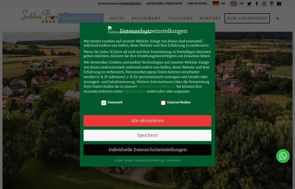 Vorschau von www.burgellern.de, Hotel Restaurant Schloss Burgellern