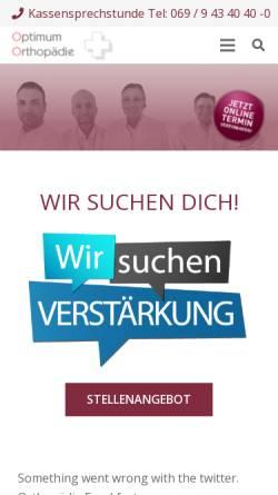 Vorschau der mobilen Webseite offene-mrt-frankfurt.com, Offenes MRT