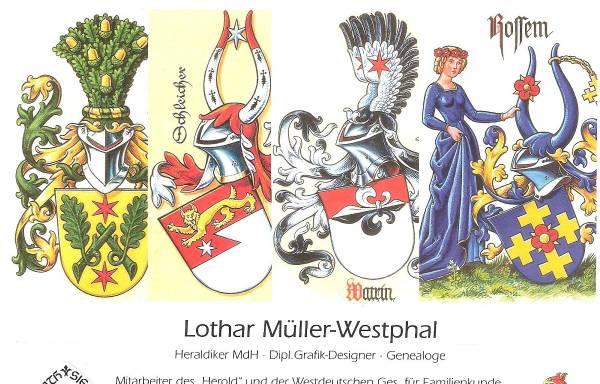 Vorschau von www.heraldissimus.de, Lothar Müller-Westphal Heraldiker