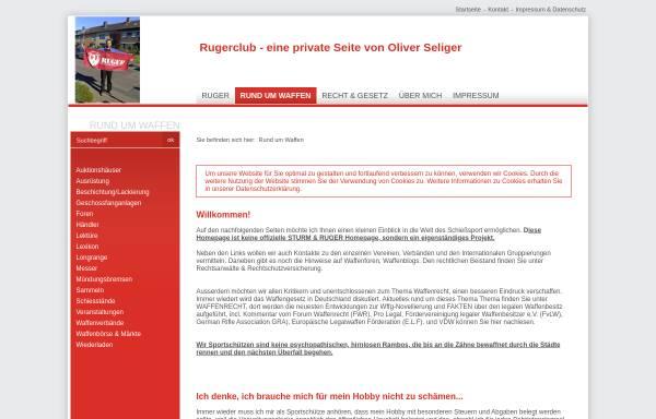 Vorschau von www.rugerclub.de, Ruger Club